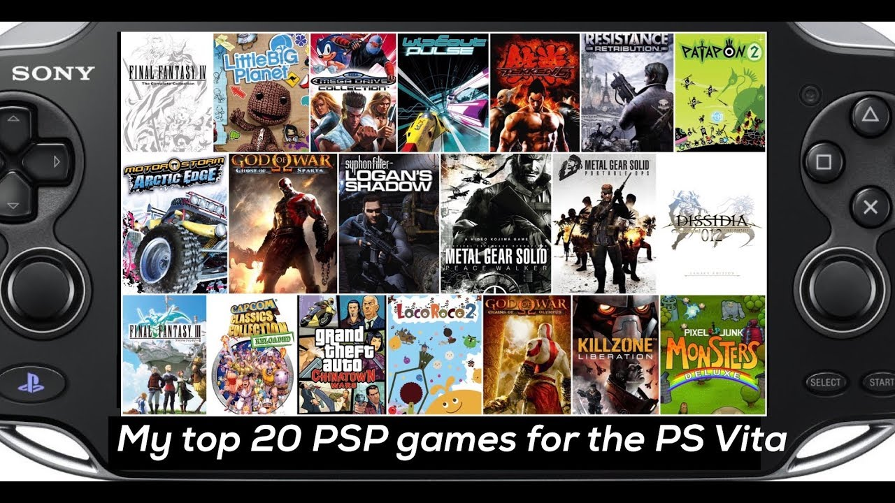 Ps Vita All Games : My top psp games to play on ps vita youtube