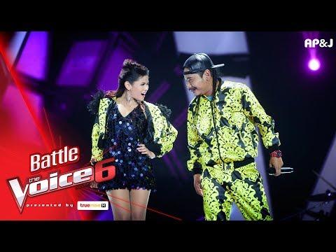 เปรี้ยว VS แชมป์ -  จริง จริง   - Battle - The Voice Thailand 6 - 4 Feb 2018
