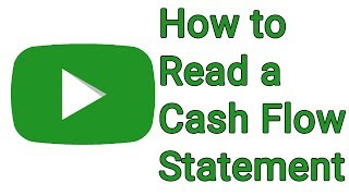 How to Read a Cash Flow Statement - With Free Cash flow Formula