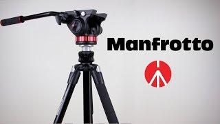 Какой штатив купить, обзор видео фото штативная голова Review:Manfrotto PRO MVH502AH