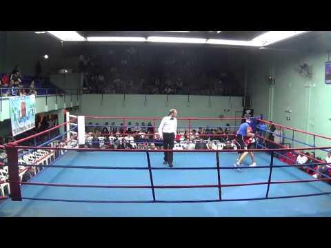 56kg Miguel CHILAVER vs Nicolás TORELLA (Estadio FAB, 05-10-13)
