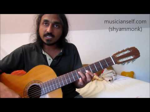 [Chord] Finding Logic For Puthu Vellai Mazhai (Rahman): How To Find own Chords For Songs