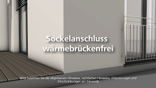 w rmebr ckenfreier sockelanschluss w rmed mmung wdvs fassadend mmung verarbeitung by sto. Black Bedroom Furniture Sets. Home Design Ideas