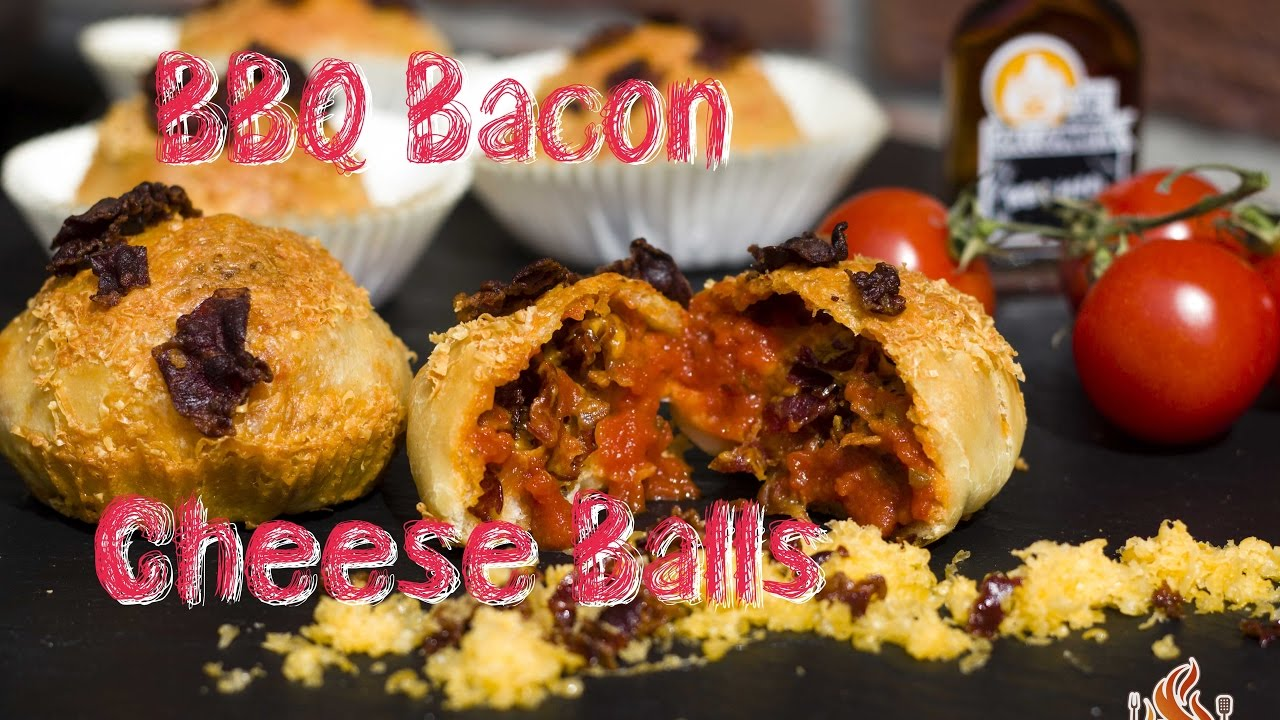 Flammkuchen Weber Holzkohlegrill : Bbq bacon cheese balls vom weber performer holzkohle grill als