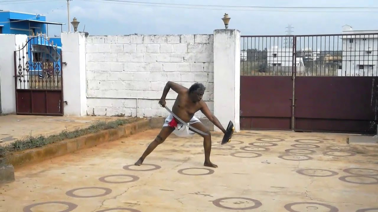 Sword fight  act -1(othiram)in silambam-An Indian oldest martial  art-(2100-B C-)of Tamils