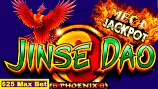 Biggest Handpay Jackpot On YouTube For Jinse Dao Phoenix Slot Machine w/$25 Max Bet ! Part-2