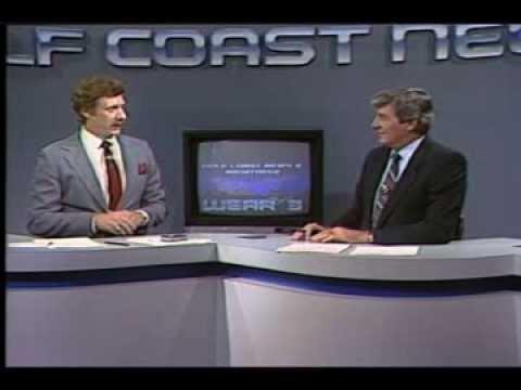 1985 Post Hurricane Elena Newscast