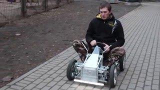 видео: Самодельный детский электромобиль часть-1