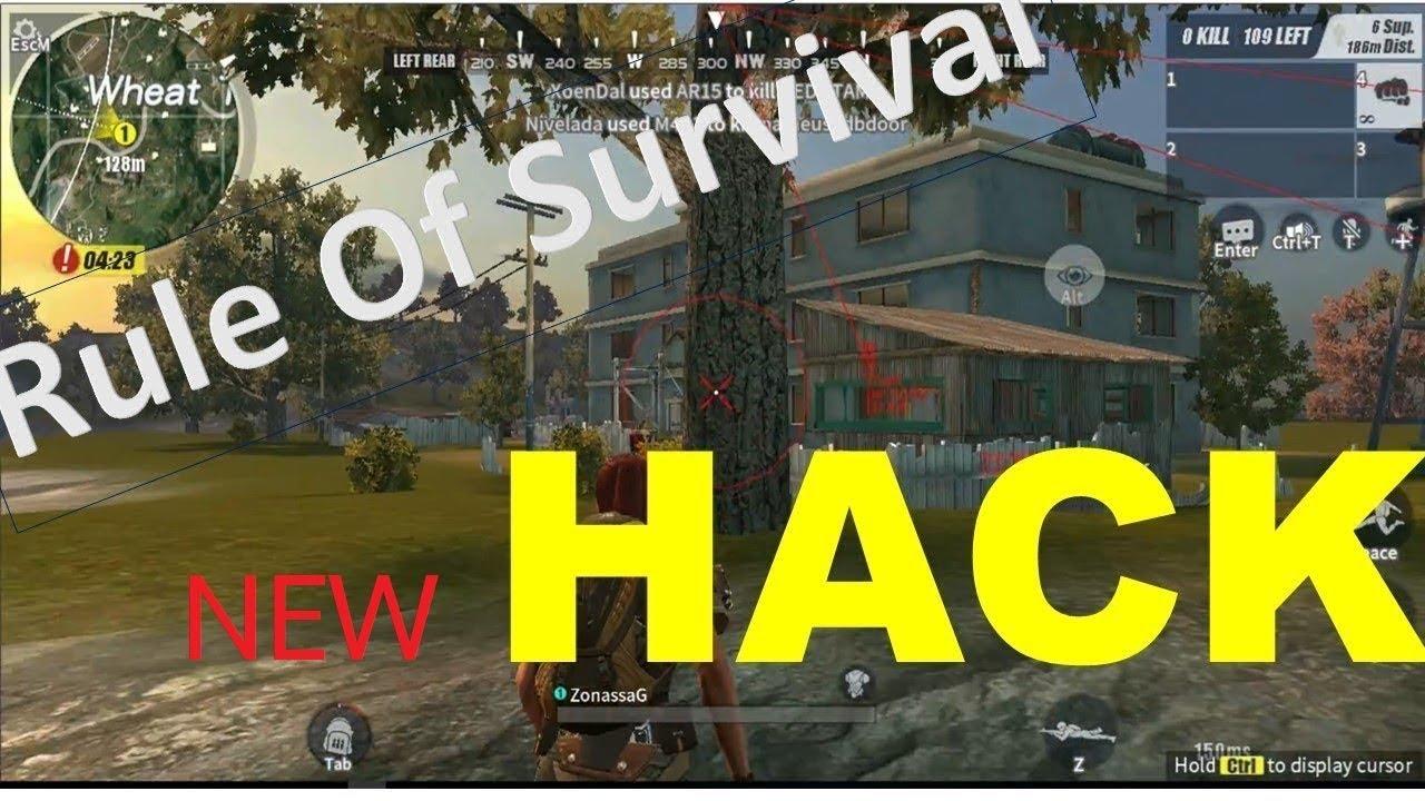 โปร Rules of Survival Hack [PC] 2/4/2018 NEW