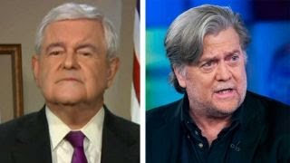 Newt Gingrich: Steve Bannon has the 'wrong strategy' thumbnail