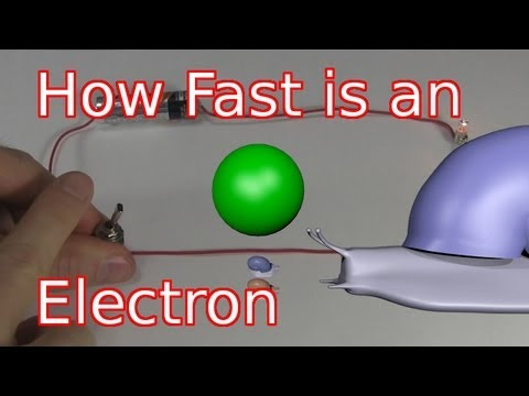 How Fast is an Electron and Electricity