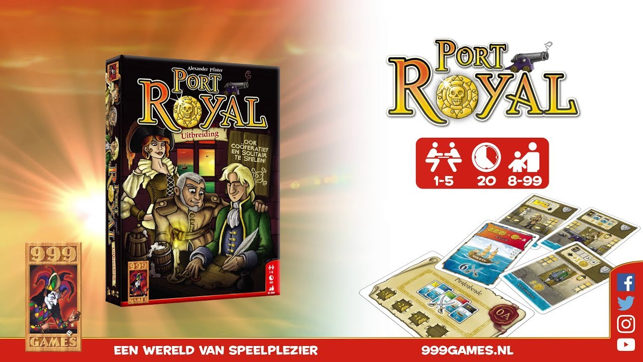 999 Games Port Royal Uitbreiding Trailer 999 Games