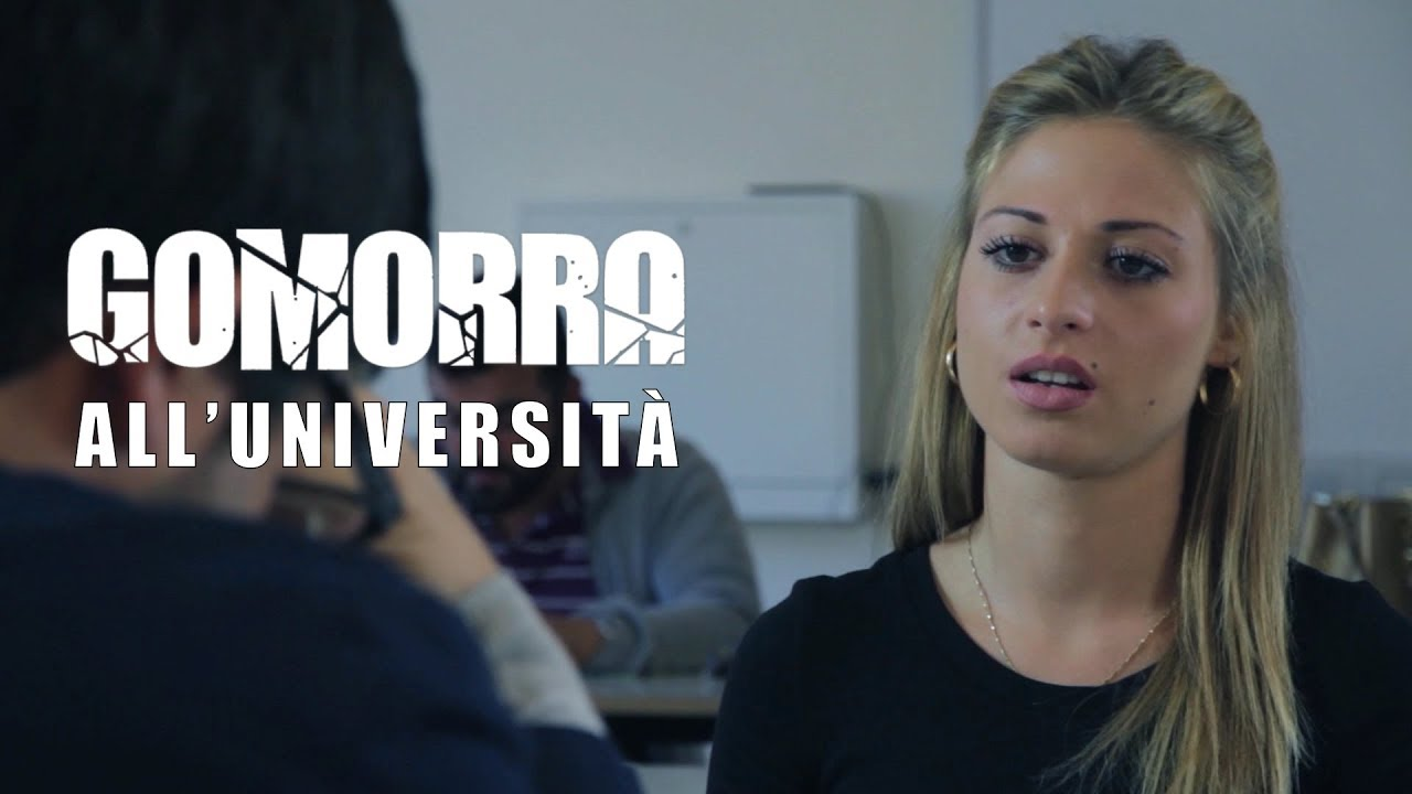 GOMORRA ALL'UNIVERSITÀ