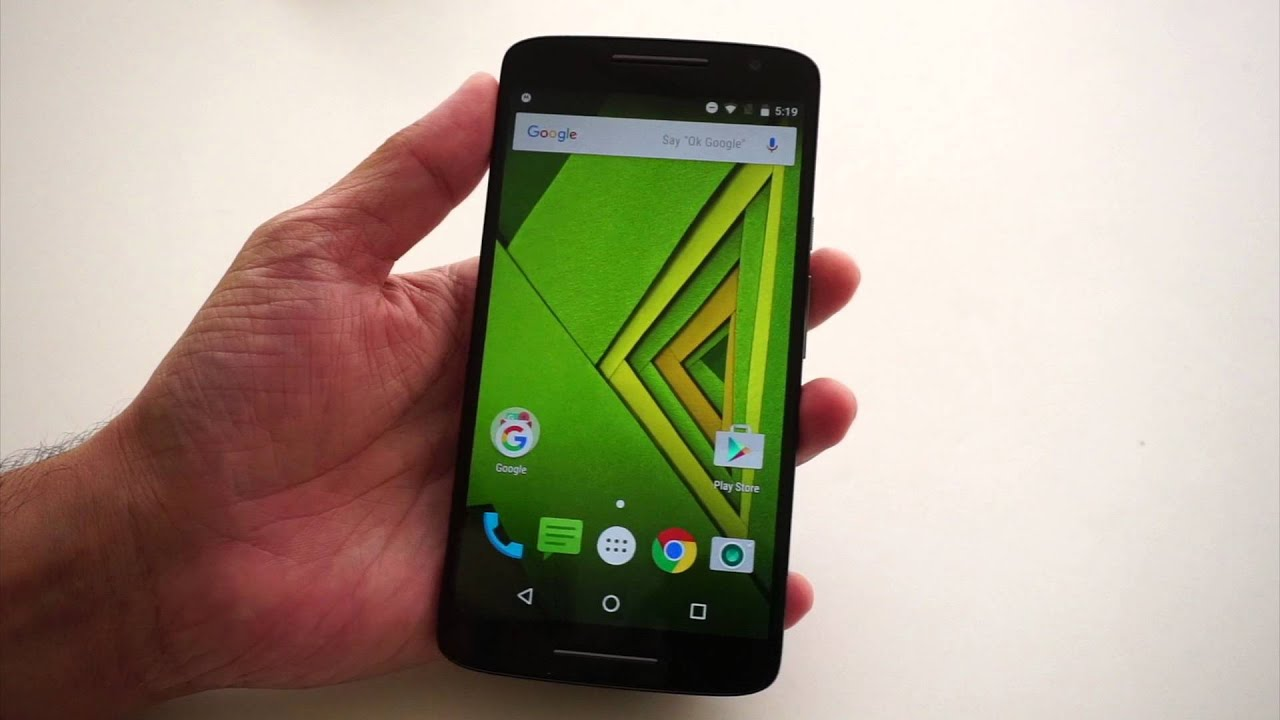 Top Android 6.0 Features On The Moto X Play - YouTube