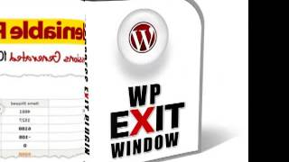 WP Exit Window by Mick Moore