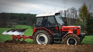 Zetor 7745 + Kverneland Orka zimowa 2013