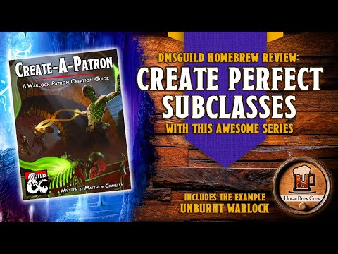 A video review of Create-A-Patron by Home Brew Crew