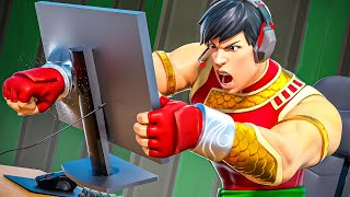 Funniest RAGES in Fortnite