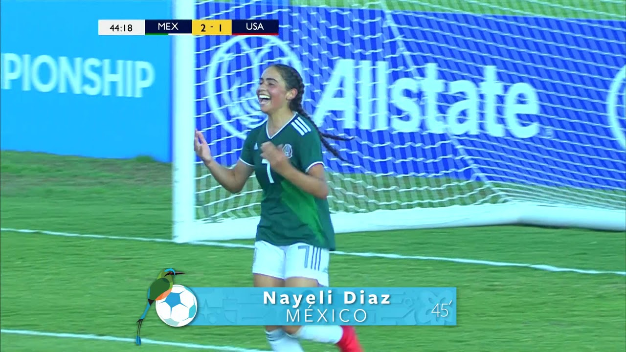 Cu17w 2018 Mexico Vs United States Highlights Youtube