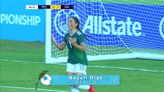 CU17W 2018: Mexico vs United States Highlights