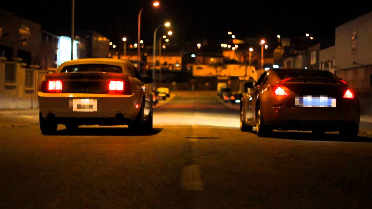Ford Mustang Vs Nissan 350z Drag