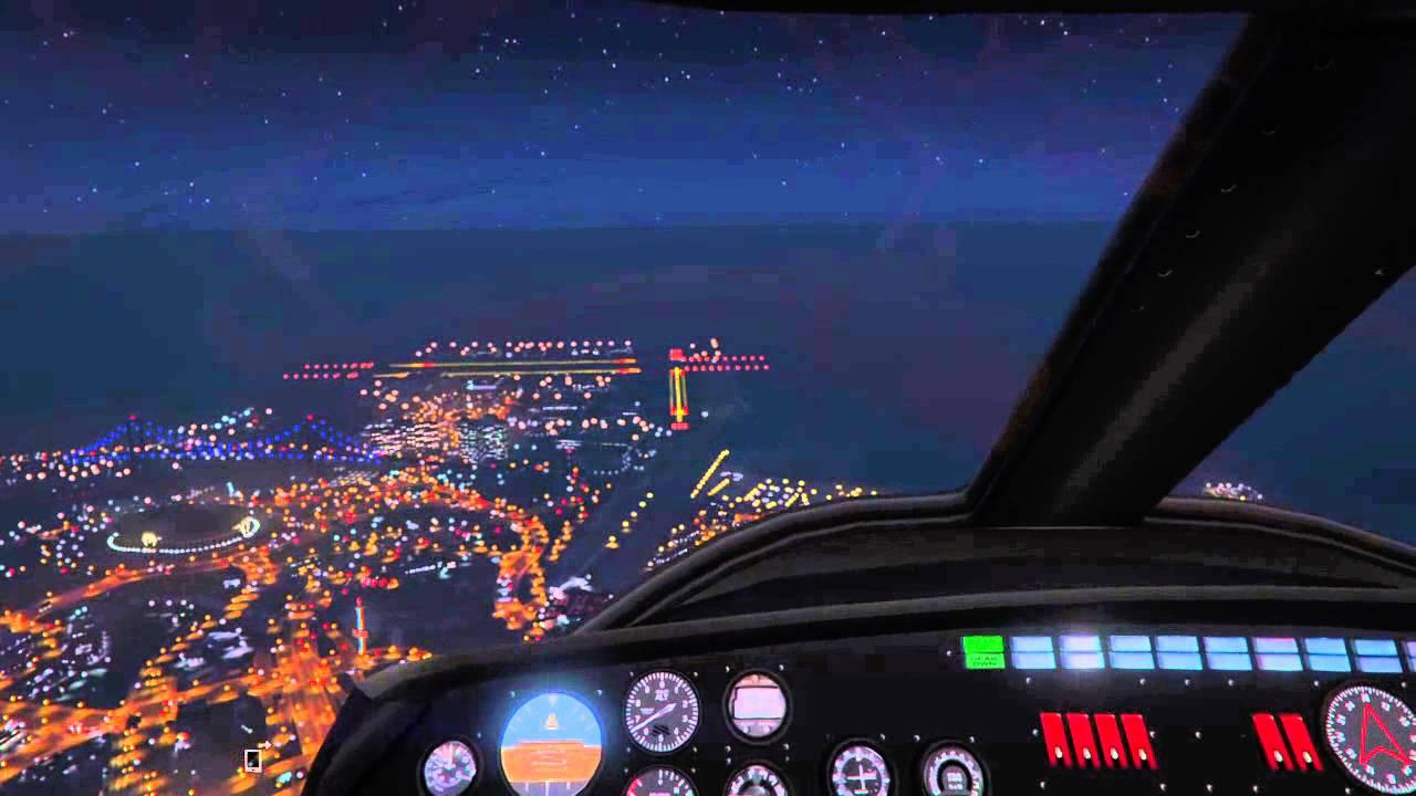flight simulator on gta v ps4 youtube. Black Bedroom Furniture Sets. Home Design Ideas