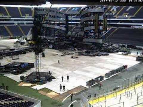 stage & stones in frankfurt - webcam time-lapse