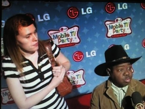 GARY COLEMAN & wife SHANNON attend party at Paramount Studios