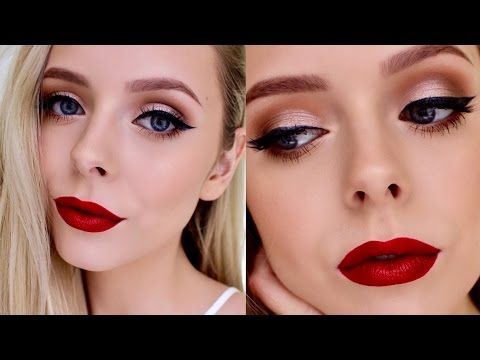 Glam Holiday Makeup Tutorial | Cosmobyhaley