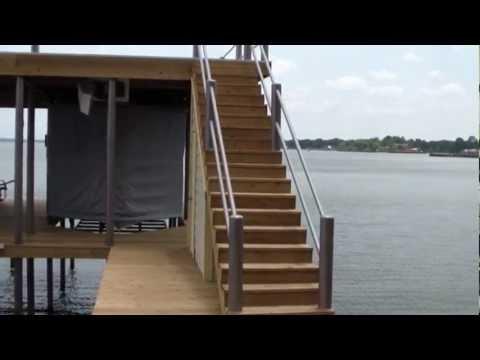 Boathouse Construction - The Lake Guy, Cedar Creek Lake