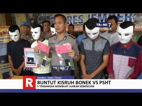 TRANS7 JAWA TIMUR - Pengujar Kebencian Bonek VS PSHT Ditangkap