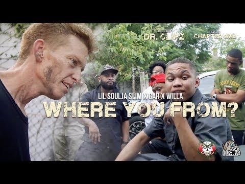 Lil Soulja Slim x Gar x Willa - Where you from? (Official Video) Dir. @Dr. Clipz