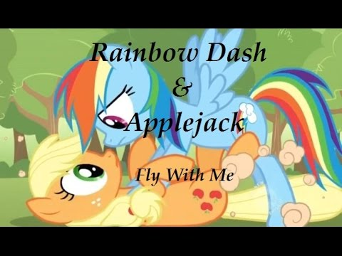 MLP: Appledash / Applejack & Rainbow Dash - Fly With Me