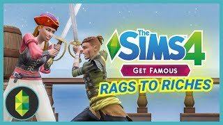 SWORD FIGHT - Part 2 - Rags to Riches (Sims 4 Get Famous)