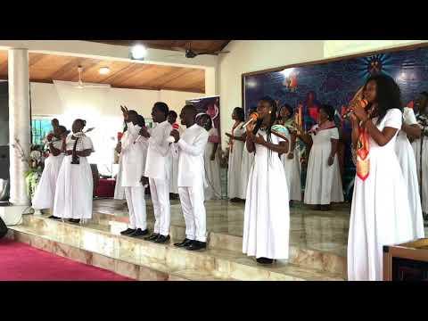 "BiBi Adu-Poku ministering ""Take your Glory"" by Nathaniel Bassey"