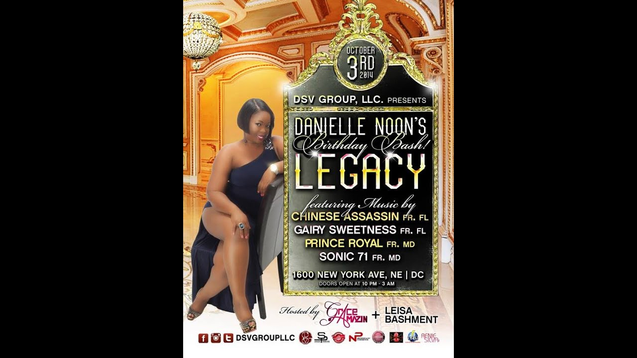 DANIELLE NOON'S BIRTHDAY BASH LEGACY - OCT 3, 2014