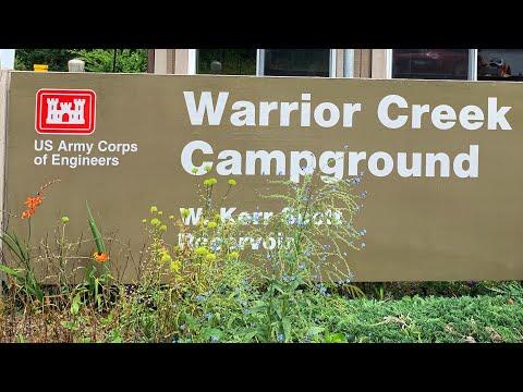 Warrior Creek Campground, Boomer, NC (USACE)