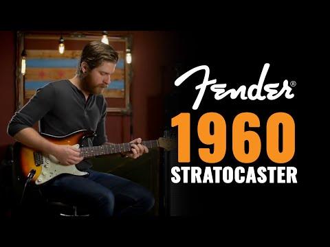 1960 Fender Stratocaster Sunburst | Vintage Guitar Demo