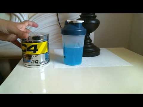 CELLUCOR C4 Pre-workout - Energy Drink Supplement