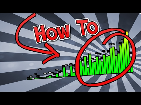 How to make an Audio Graph/Audio Spectrum FREE ONLINE!!