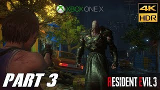 Resident evil 3 remake [4k hdr 60fps uhd xbox one x] gameplay # part