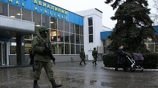 Ukraine: armed group attempt to seize Crimea airport