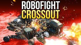 Crossout Robofight: ЗАДИРА vs СПИНОЗАВР
