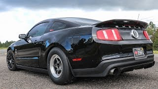 930RWHP Corn Fed 3.4L Whipple Supercharged 2012 Shelby GT500 Ride Along 180MPH in the 1/2 Mile
