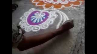 how to draw sanskar bharati rangoli