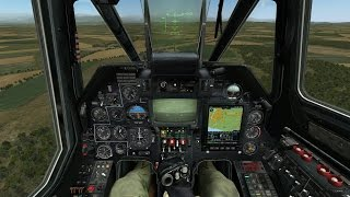 Best Simulator of the Attack Helicopter on PC ! Black Shark Ka-50 DCS Game