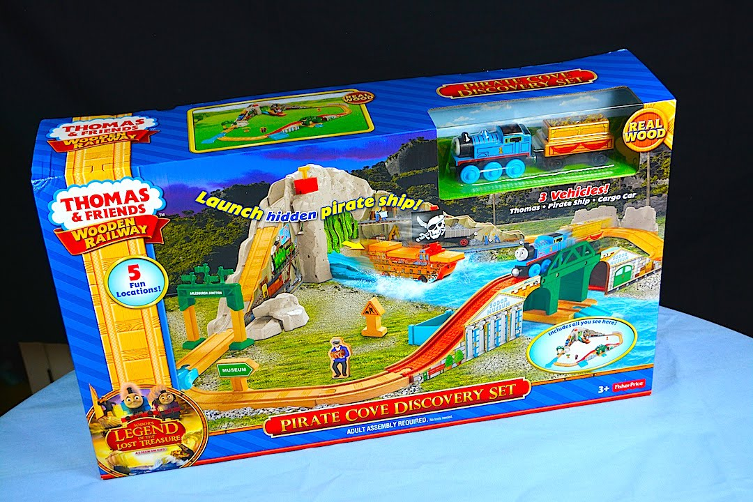 Pirate Cove Discovery Set 2015 Thomas And Friends Wooden Railway Toy Train Set Review
