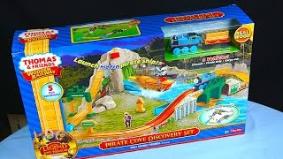 Pirate Cove Discovery Set - 2015 Thomas And Friends Wooden Railway Toy Train Set Review