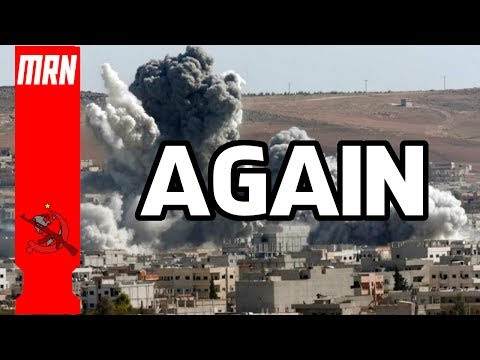 Another False Flag  US Military Threatening to Bomb Syria Again