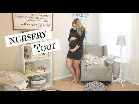 NURSERY TOUR 2017   CLOSET ORGANIZATION IDEAS   BABY BOY
